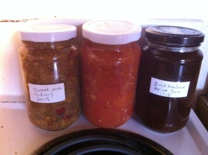 Preserving food in Autumn for Winter and Spring.