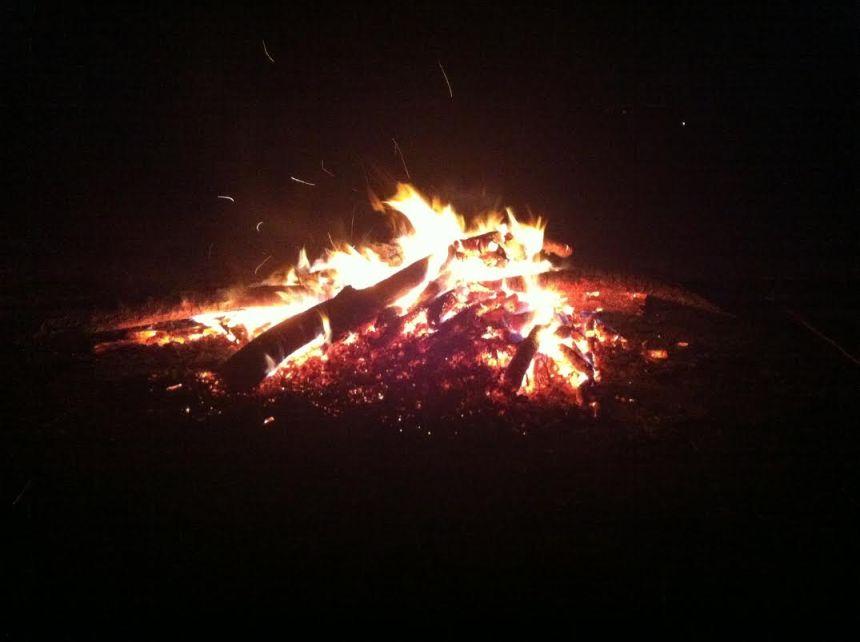 pre-winter solstice bonfire 2015